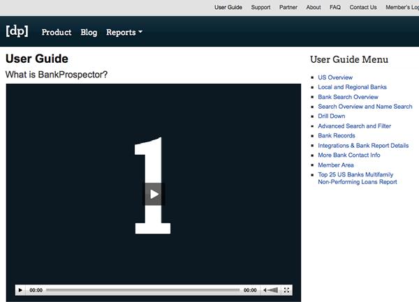 bankProspector User Guide