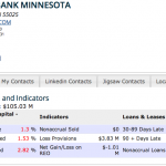 PATRIOT BANK MINNESOTA_s REO & Non Performing Loans Report - FDIC Call Report