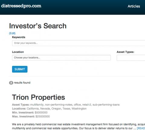 Alpha Investors Screenshot