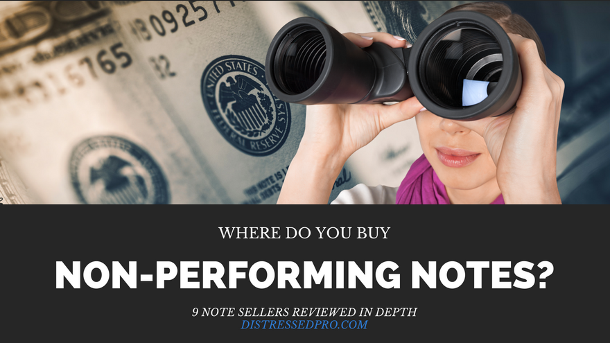 where to find non-performing notes for sale